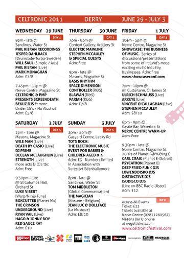 2011-0X - Celtronic Festival, Lineup.jpg