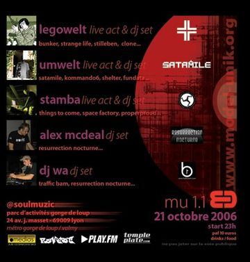 2006-10-21 - Legowelt - Live DJ Set @ Model Unik, Lyon, France - B.jpg