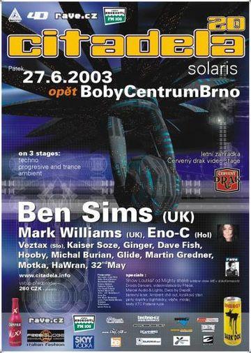 2003-06-27 - Citadela 20 Solaris, Bobycentrum, Brno, Czech Republic.jpg
