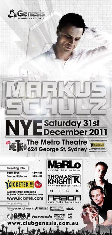 2011-12-31 - Markus Schulz @ NYE, Metro Theatre.jpg