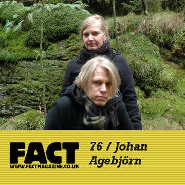 2009-08-21 - Johan Agebjörn - FACT Mix 76.jpg