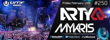 2014-02-14 - Arty, DJ Mykris - UMF Radio 250 -1.jpg