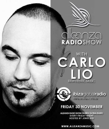 2012-11-30 - Carlo Lio - Alleanza Radio Show 50, Ibiza Global Radio.jpg