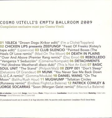 2009-12-09 - Cosmo Vitelli - Tsugi Sampler 25 - Empty Ballroom -2.jpg