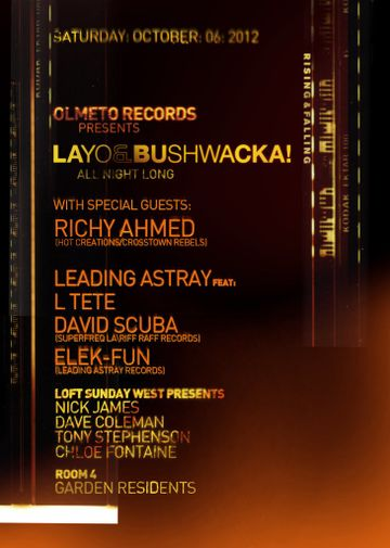 2012-10-06 - Olmeto Presents Layo & Bushwacka! Rising And Falling Album Launch, Egg -2.jpg