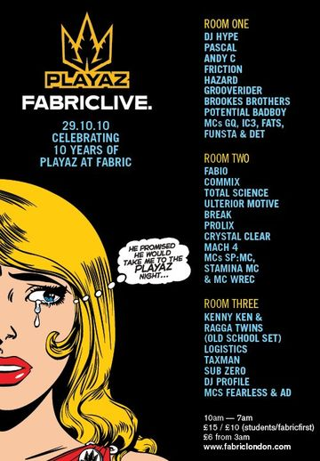 2010-10-29 - 10 Years Playaz, Fabric.jpg