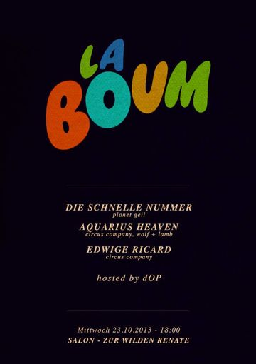 2013-10-23 - La Boum, Salon Zur Wilden Renate.jpg