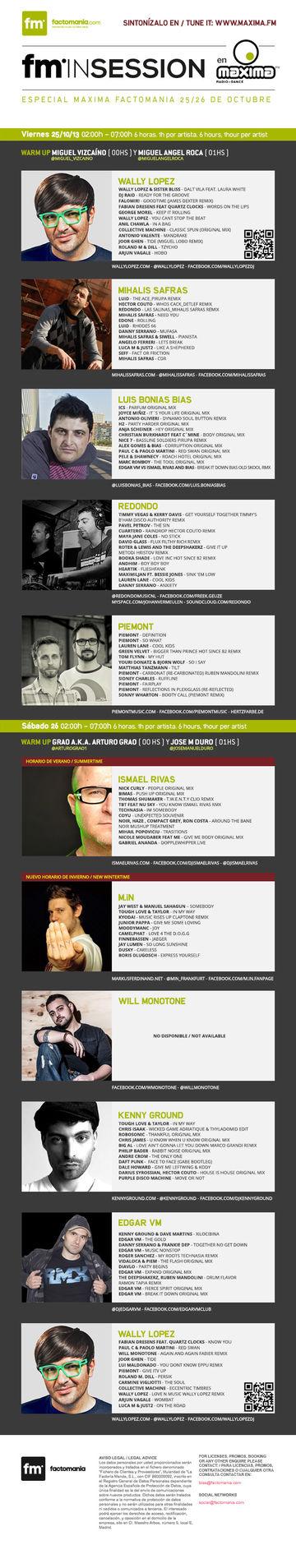 2013-10-2X - Especial Factomania Radioshow, Maxima FM.jpg