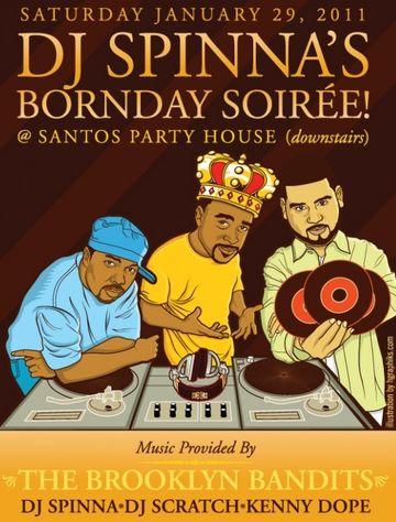 2011-01-29 - DJ Spinna's Bornday Soirée, Santos Party House.jpg