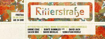 2013-06-28 - Ritterstrasse Pres. Mono Recordings Labelshowcase, Ritter Butzke -1.jpg