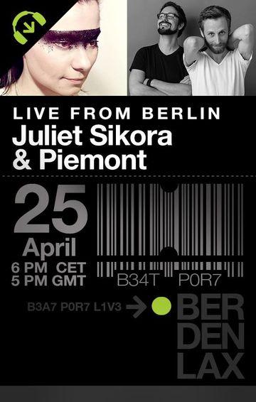 2014-04-25 - Juliet Sikora, Piemont @ Beatport, Berlin.jpg