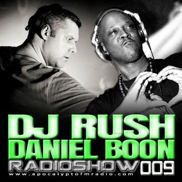 2014-10-16 - Daniel Boon, DJ Rush - Hours RadioShow 009, Apokalypto FM Radio.jpg