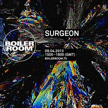 2013 04 09 Surgeon Boiler Room Dj Sets Amp Tracklists