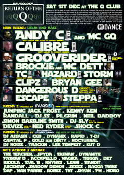 2007-12-01 - Calibre, MC Bassman, Trigga & Spyda @ Raveology, Q-Club, Birmingham back.jpg