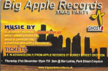 2000-12-21 - Big Apple Records Xmas Party, Bar Latino, London.jpg