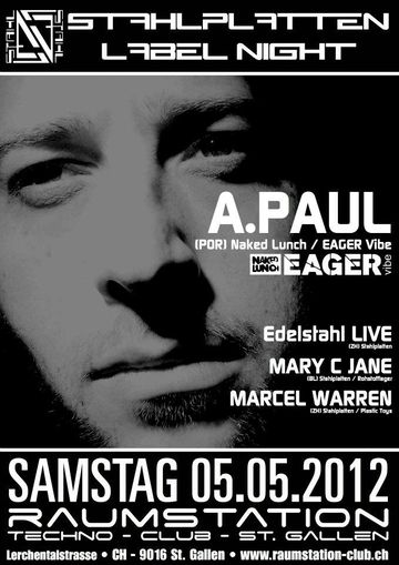 2012-05-05 - Stahlplatten Label Night, Raumstation.jpg