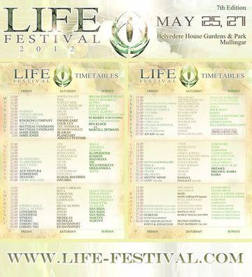 2012-05-2X - Life Festival, Timetables.jpg