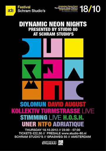 2012-10-18 - Diynamic Neon Nights, Schram Studio's, ADE.jpg