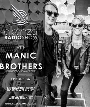 2014-08-08 - Manic Brothers - Alleanza Radio Show 137.jpg