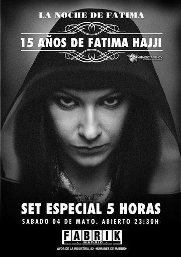 2013-05-04 - 15 Years Fatima Hajji - La Noche De Fatima, Fabrik.jpg