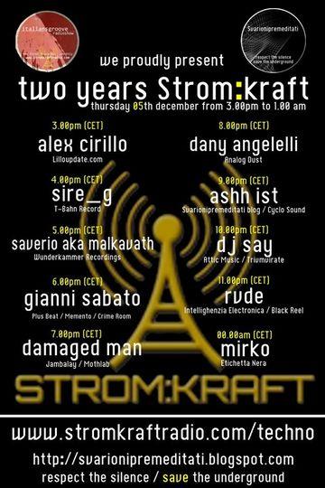 2013-12-05 - Italians Groove Radio Special 2 Years StromKraft Radio.jpg