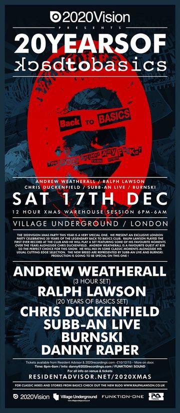 2011-12-17 - 2020Vision Presents 20 Years Of Backtobasics, Village Underground.jpg