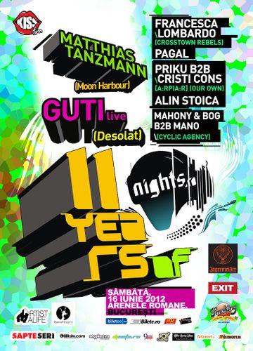 2012-06-16 - 11 Years Nights.ro, Arenele Romane.jpg