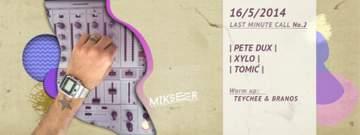 2014-05-16 - Last Minute Call Vol.2, Mikser.jpg
