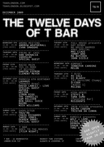 2009-12 - The 12 Days Of T Bar.jpg