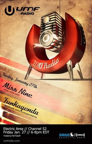 2012-01-27 - Miss Nine, Funkagenda - UMF Radio.jpg