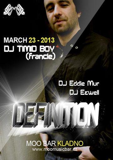 2013-03-23 - Timid Boy @ Definition, Moo Bar, Kladno, Czech Republic.jpg