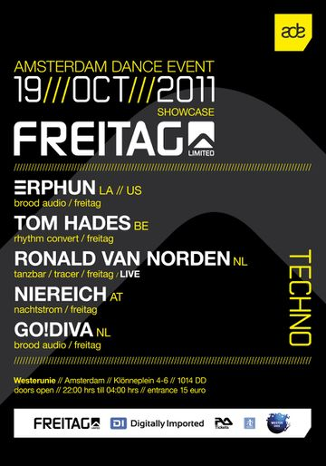 2011-10-19 - Freitag Showcase, Westerunie, ADE.jpg