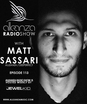 2014-02-21 - Matt Sassari - Alleanza Radio Show 113.jpg