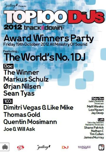 2012-10-19 - The Gallery Pres. DJ Mag Top 100 DJs Award Winners Party, Ministry Of Sound.jpg