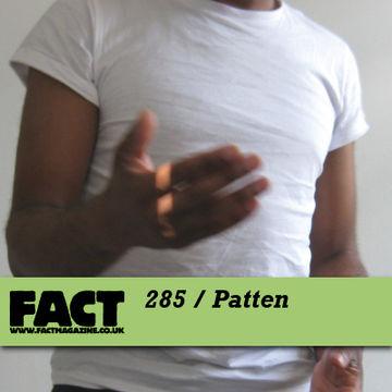 2011-09-23 - Patten - FACT Mix 285.jpg