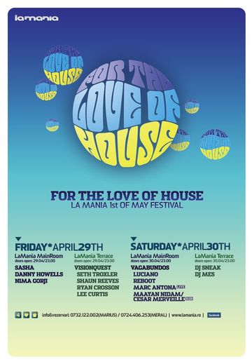 2011-0X - For The Love Of House, La Mania - 1.jpg