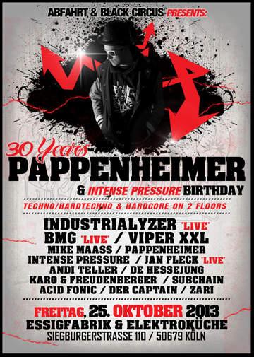2013-10-25 - 30 Years Pappenheimer, Essigfabrik.jpg