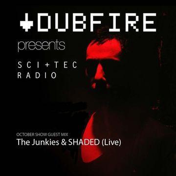 2013-10-02 - The Junkies & SHADED - SCI+TEC Radio 006, Delta FM.jpg