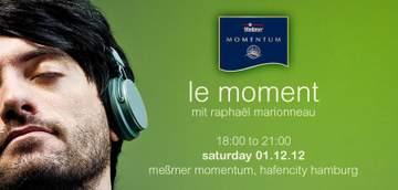 2012-12-01 - Raphaël Marionneau @ Le Moment, Meßmer Momentum.jpg