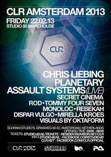2013-02-22 - CLR Amsterdam 2013, Schram Studio's.jpg
