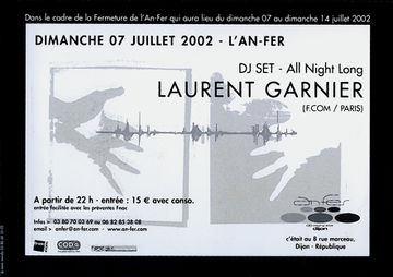 2002-07-07 - Laurent Garnier @ l'An-Fer, Dijon Back.jpg