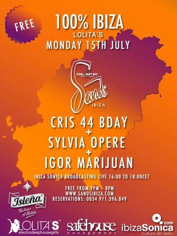 2013-07-15 - 100% Ibiza - Lolita's, Sands.jpg