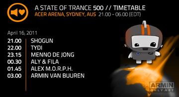 2011-04-16 - A State Of Trance 500 (Timetable - Acer Arenas, Sydney).jpg
