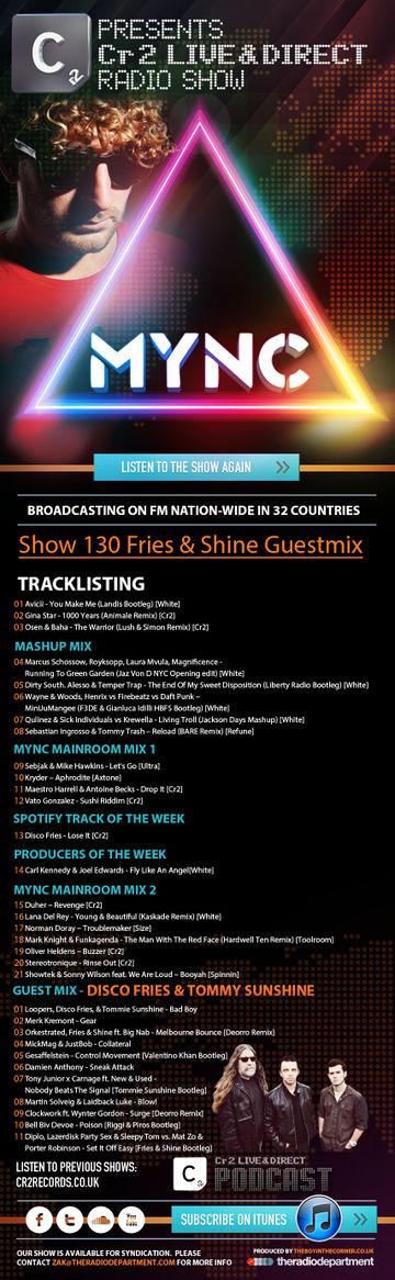 2013-09-16 - MYNC, Fries & Shine - Cr2 Live & Direct Radio Show 130-2.jpg