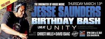 2014-03-13 - Jesse Saunders @ Unity - Birthday Bash, El Bar.jpg