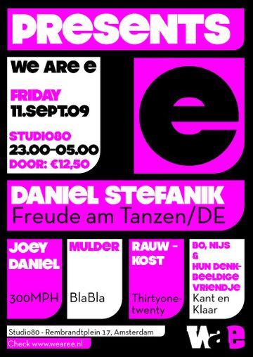 2009-09-11 - We Are E, Studio 80 -2.jpg