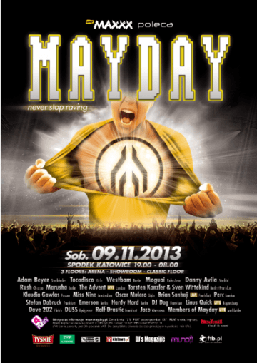 2013-11-09 MayDay - Never Stop Raving, Poland.png