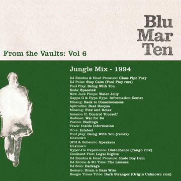 1994 - Blu Mar Ten - From The Vaults Vol.6 - Jungle Mix.jpg