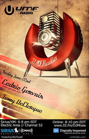 2012-06-22 - Cedric Gervais, Tommy DeClerque - UMF Radio.jpg