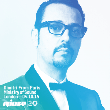 2014-10-04 - Dimitri From Paris @ 20 Years Rinse, Ministry Of Sound.png